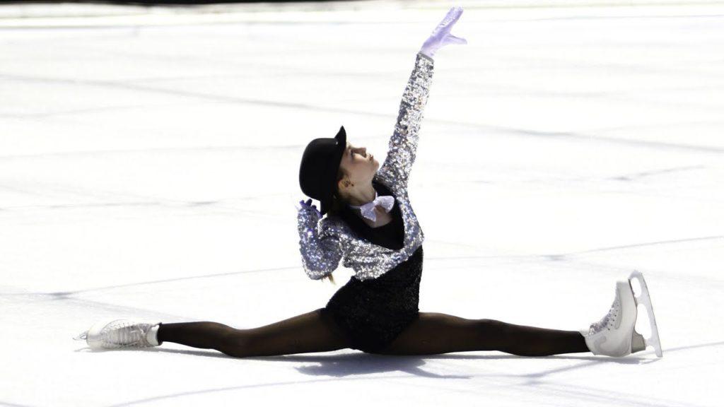 Программа фигурного катания с современной хореографией