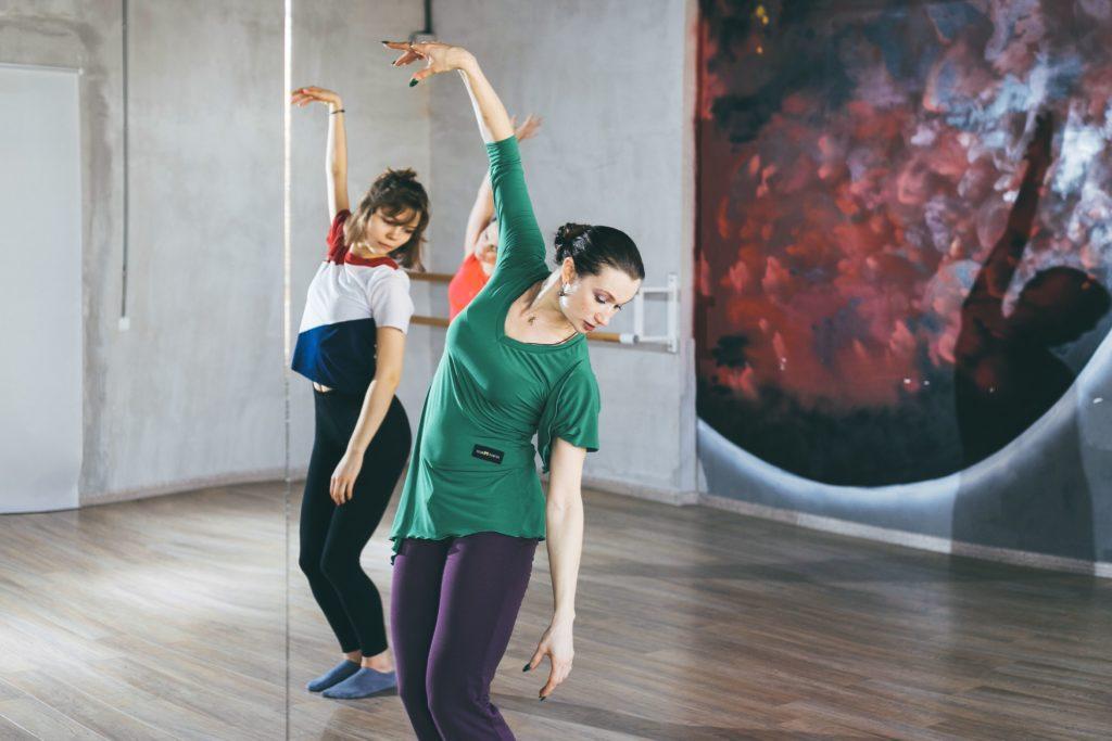 Тренировка по джазовому танцу