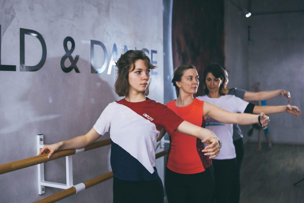 Элементы классической хореографии в боди балете