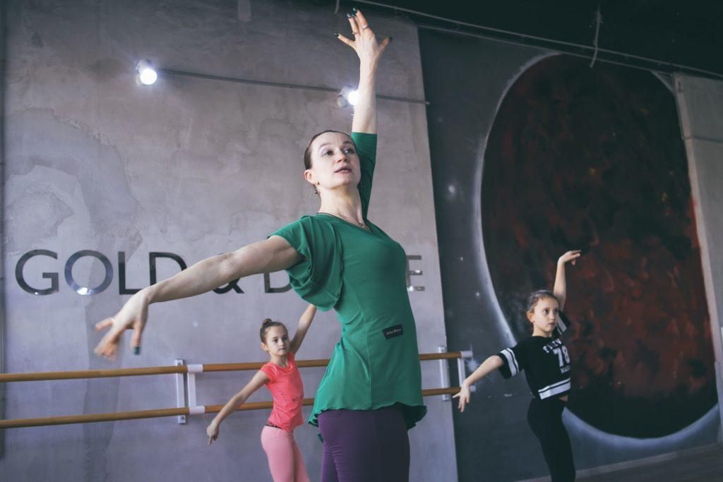 Отработка танцевальной постановки